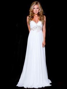 2013 Style A-line Sweetheart Beading Sleeveless Floor-length Chiffon Prom Dresses / Evening Dresses (SZ0311095) - FabulousPromDress.com