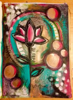 This weeks Lifebook with Alena Hennessy, intuitive painting !!!