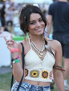 How to: Steal Vanessa Hudgens' Festival Style | Nothing Sweet About Nikki
