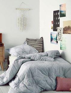 veja o que é tendência na decoração de quarto no Pinterest.