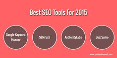 Use these #SEOtools to see a positive change in the way your website performs and ranks in search results.