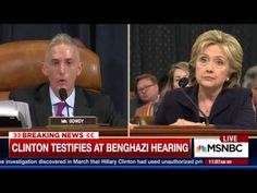 10-31-2015  This Benghazi Committee Member is a Democrat - Here's How Trey Gowdy Put Him in His Place
