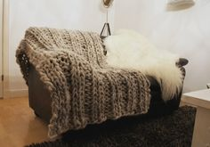 Det tjukkeste strikketeppet du noen gang har sett
