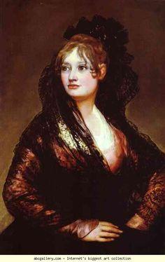 Francisco de Goya. Dona Isabel de Porcel.