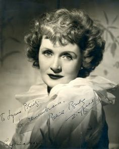 Billie Burke aka Glenda The Good Witch. So pretty!