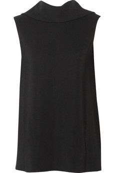 The Row Sesil stretch-cady top | NET-A-PORTER