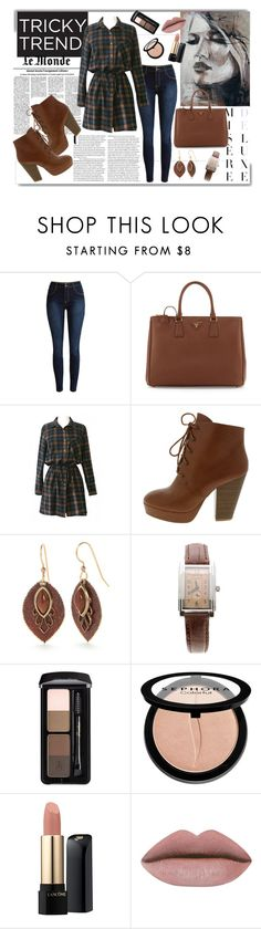 """""""Dress and Pants outfit"""" by natasa-topalovic ❤ liked on Polyvore featuring White Label, Prada, Silver Forest, Tiffany & Co., Sephora Collection and Lancôme"""