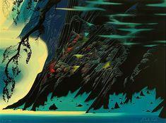 Eyvind Earle Coastal Magic 1993