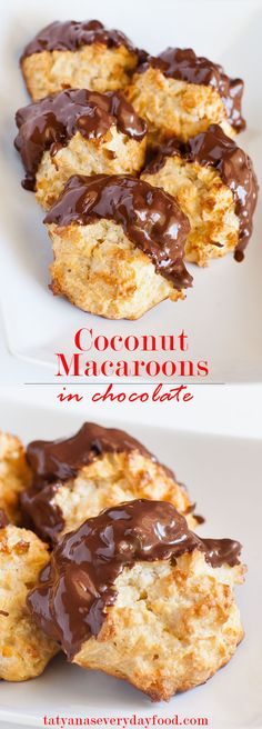 An easy, no-fail recipe for light and airy coconut macaroons. Dip these decadent cookies in chocolate to make them extra special! Watch my video recipe for step-by-step instructions! You can also enjoy these without chocolate! Enjoyed this recipe? Please share and save it to Pinterest! Love macaroons? Try these hot pink and spicy macaroons with […]