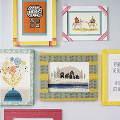 Get crafty and decorate your home using washi tape, as shown by Ideal Home and…