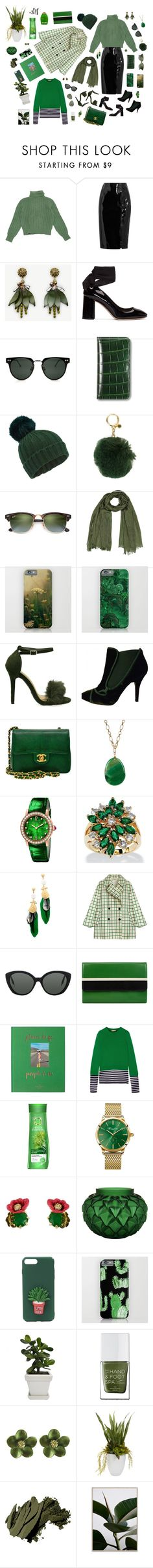 """Green Space"" by kris-tin-22 ❤ liked on Polyvore featuring Yves Saint Laurent, Topshop Unique, Ann Taylor, Miu Miu, Spitfire, Asprey, Miss Selfridge, MICHAEL Michael Kors, Ray-Ban and Givenchy"