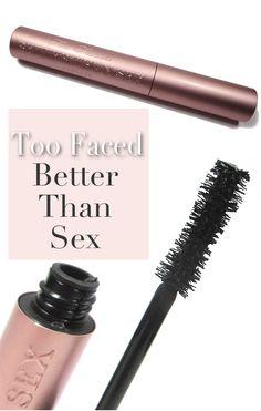 Mascara Monday: Too Faced Better Than SexMascara. - Home - Beautiful Makeup Search: Beauty Blog, Makeup & Skin Care Reviews, Beauty Tips