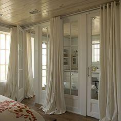 Bedroom Window Treatments: Long Drapery - Bedroom Window Treatments - Southern Living