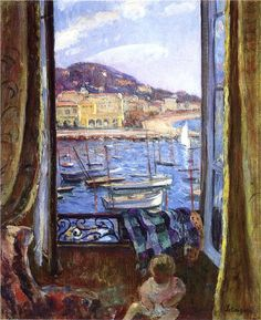 Henri Lebasque (1865-1937) - The Quay at St Pierre in Cannes