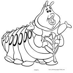 96 best a bugs life coloring pages images on Pinterest | Coloring ...