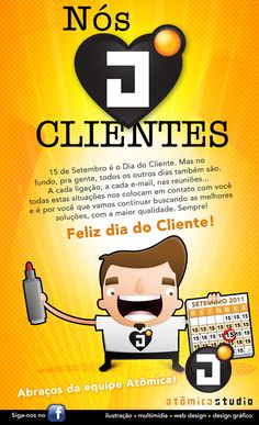 Mail Marketing - Dia do Cliente on Behance