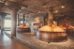 A San Francisco tradition since Anchor Brewing is America's first craft brewery. Explore our traditional copper brewhouse and time-honored, handcrafted techniques. California Breweries, Anchor Brewing, Whisky, Craft Bier, Brahma, Brewery Design, American Beer, Beer Brewery, Brewery Restaurant