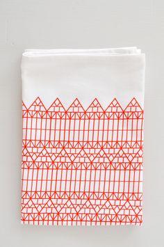 Strasbourg Tea Towel by KOROMIKO