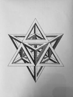 Creative Draw A Monster Ideas. Exacting Draw A Monster Ideas. Geometric Tattoo Design, Geometric Designs, Geometric Shapes, Impossible Shapes, Isometric Drawing, Sacred Geometry Symbols, Geometry Pattern, Illusion Art, Mandala Tattoo