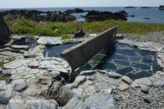 https://flic.kr/p/dbCVJj | Yudomari onsen, Yakushima Island, Japan | Yudomari rotenburo(outside) onsen, Yakushima Island, national park,  Japan. This is a mixed sex hot spring pool by the seas with a small modesty barrier. Swimwear not expected to be worn