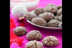 Čokoládové kuličky s překvapením Cookies, Chocolate, Desserts, Food, Candy, Sweet Treats, Crack Crackers, Tailgate Desserts, Deserts