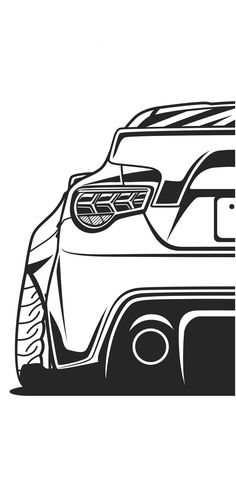 cool silhouette drawings animation jdm vector cars japan