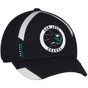 7ac49d1531c  Spring  AdoreWe  Shop.NHL.com -  adidas Men s San Jose Sharks adidas Black  Practice Jersey Hook Flex Hat - AdoreWe.com