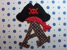 Pirate A, $7.00, via Etsy.