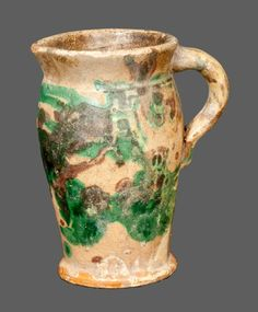 american redware pitcher 1890