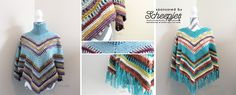 Make this gorgeous poncho with the free crochet along beginning this month! Sign up now at the link.