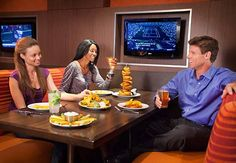Watch your favorite team with booth-side TV's while enjoying great #food at #ChampionsSportsBar at the #Miami Airport Marriott.