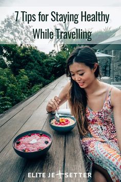 7 tips for staying healthy while travelling. eating well while travelling. Ways to keep healthy abroad Healthy Foods To Eat, Healthy Tips, How To Stay Healthy, Healthy Eating, Healthy Recipes, Travel Abroad, Travel Tips, Travel Hacks, Travel Plan