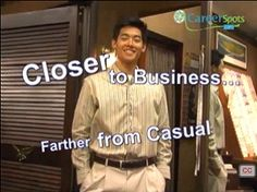 "Business casual means ""business smart"" but what does that mean? See what works when the dress code is less than formal. Business Attire For Men, Business Casual Dresses, What Can I Do, I Can, Interview Attire, Job Fair, Dress For Success, Dress Codes, Yup"