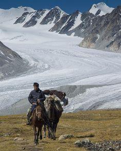 Potanin Glacier Mongolia