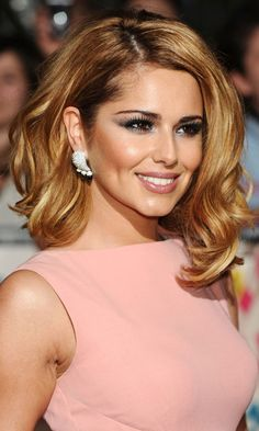 Cheryl Cole – hair chameleon - Cheryl Cole - Zimbio golden curls