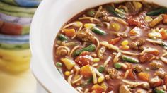 Round out a steaming bowl of slow-cooked soup with a Pillsbury® Crusty French Loaf slathered with butter.