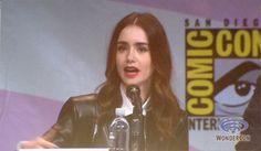 the mortal instruments movie panel 2013 comic con photos | 2013: 'The Mortal Instruments: City of Bones' Panel WonderCon 2013 ...