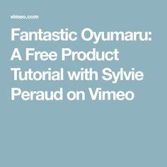 Fantastic Oyumaru: A Free Product Tutorial with Sylvie Peraud on Vimeo