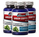 Perfect Garcinia Cambogia and Honest Green Coffee – Green Coffee Extract 800mg – Premium Green Coffee Bean Extract for Natural Weight Loss (3 Bottles 180 Capsules) | How To Lose Fat Tummy