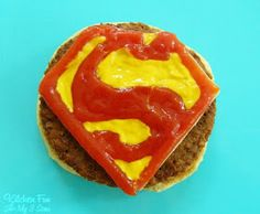 Kitchen Fun With My 3 Sons: Superman Burgers