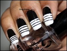 http://crazypolishes.blogspot.in/2012/09/challenge-day-7-black-and-white-nails.html