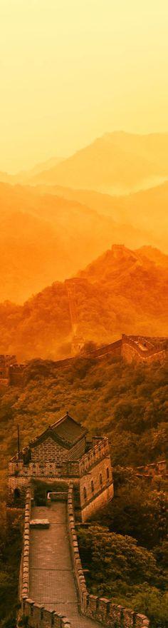 Along the Great Wall of China - photo from #treyratcliff Trey Ratcliff at http://www.StuckInCustoms.com