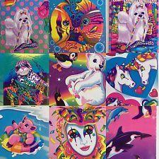 Vintage Lot of 10 Lisa Frank Stickers Mask Unicorn Seal Pig Whale Fish Polar Bear #lisafrank