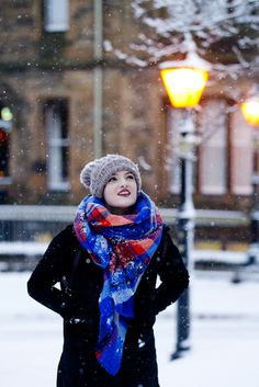 So snow hit Glasgow, couldn't resist doing a couple of pics - take a look at fabricforward.com