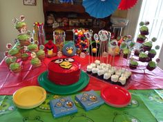 angry+bird+birthday+party+ideas | Angry birds birthday party