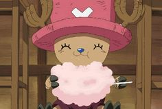 Cotton candy from One Piece - anime food