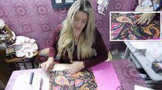 Cartonagem agenda by Adriana dourado