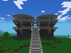 Epic Minecraft Pocket Edition House I Made With My Friend