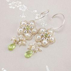 Green Plumeria | JewelryLessons.com