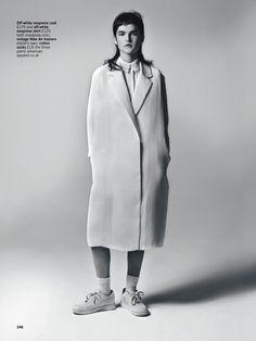 less is more: zoe colivas by christopher ferguson for uk glamour november 2014